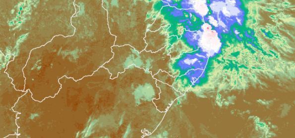 Risco de chuva forte em capitais do Nordeste