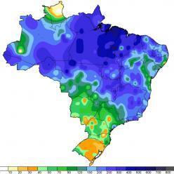 Alguns números da chuva de março de 2020 no Brasil
