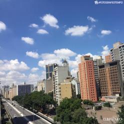 Junho começa sol na cidade de São Paulo