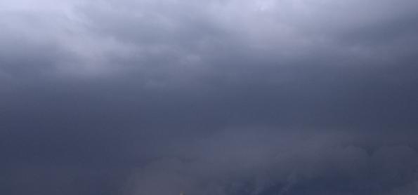 Chuva forte na maioria das áreas de MS e MT