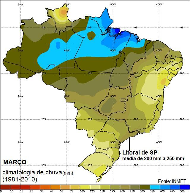 CHuva_março_climatologia INMET_litoral deSP