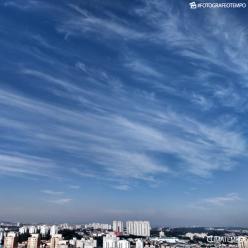 Segunda-feira quente na cidade de São Paulo