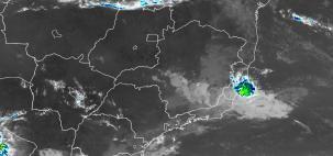 Atenção para chuva forte no ES e no RJ