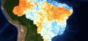 O que esperar da chuva de abril no Brasil?