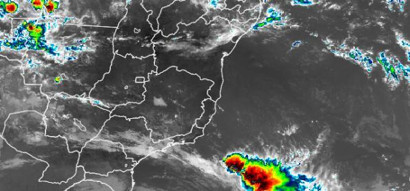 Ciclone extratropical provoca ventos de 150 km/h no Sul do BR