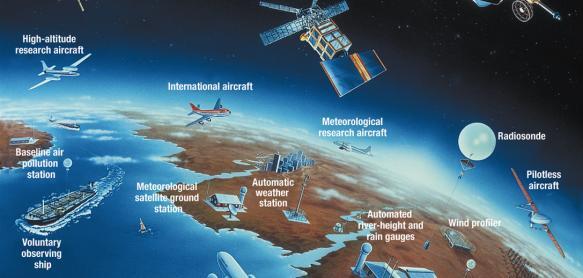 Meteorologia pode sofrer impacto com covid-19, diz WMO