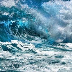 Mar agitado e risco de ressaca no Sul e no Sudeste