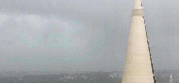Chuva volumosa de uma frente fria alivia seca no Sul do Brasil