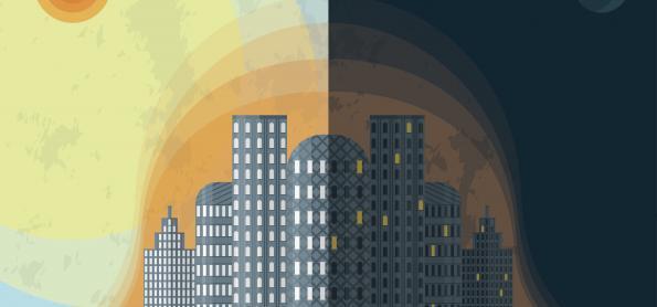 Você sabe explicar o que é o efeito da ilha urbana de calor?