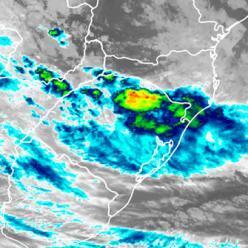 Novo ciclone extratropical deixa o Sul do Brasil em perigo