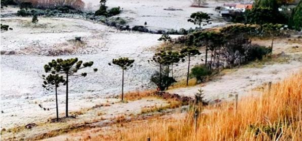 Frio diminui no Sul do BR no fim de semana e volta a chover