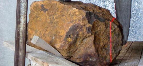 Pedra num jardim da Alemanha era na verdade um meteorito