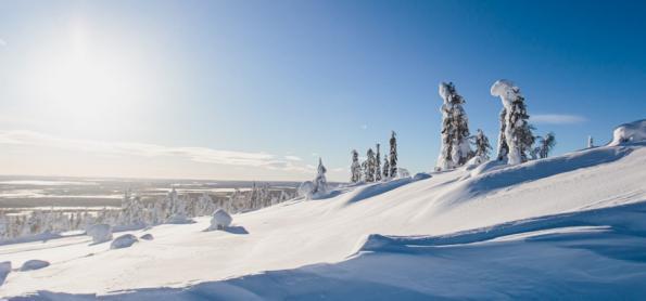O derretimento da Finlândia congelada