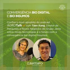 Tecnologia e convergência Biodigital é tema do AgroTalk