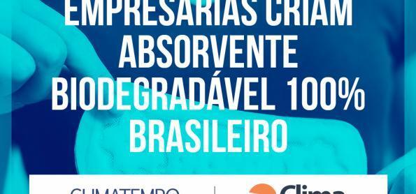Empresárias criam absorvente biodegradável 100% brasileiro