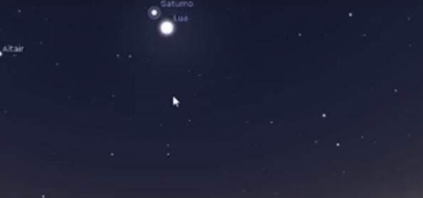 Show no céu: Lua pertinho de Júpiter e de Saturno