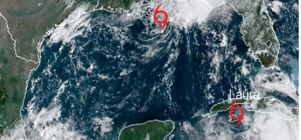 Tempestades Marco e Laura deixam EUA em alerta