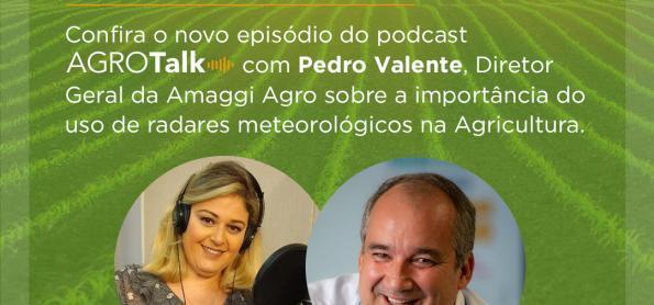 Uso de radar meteorológico no campo é tema do podcast AgroTalk