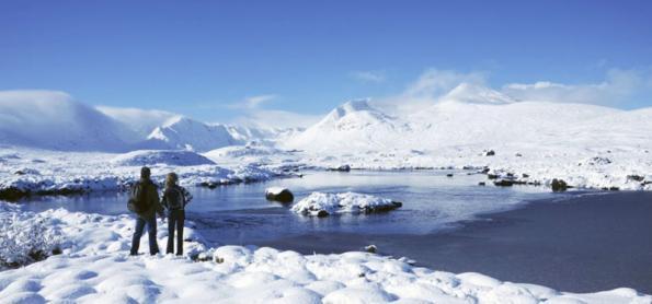 10 destinos para ver neve na Grã-Bretanha