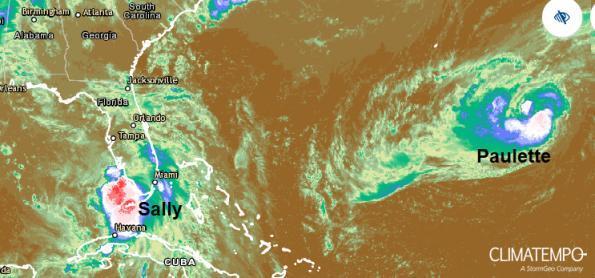 Tempestade tropical se fortalece e avança para Louisiana