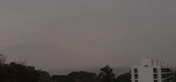 Chove em Brasília depois de 126 dias