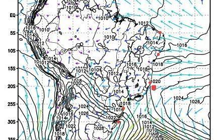 Ciclone bomba se forma e provoca ventania no Sul e Sudeste