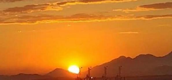 Calor e ar seco no Brasil na última sexta-feira do inverno