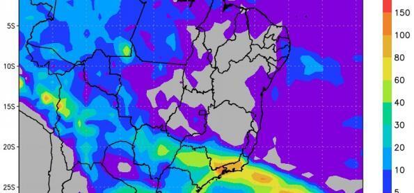 Primavera vai começar com grande frente fria no Brasil