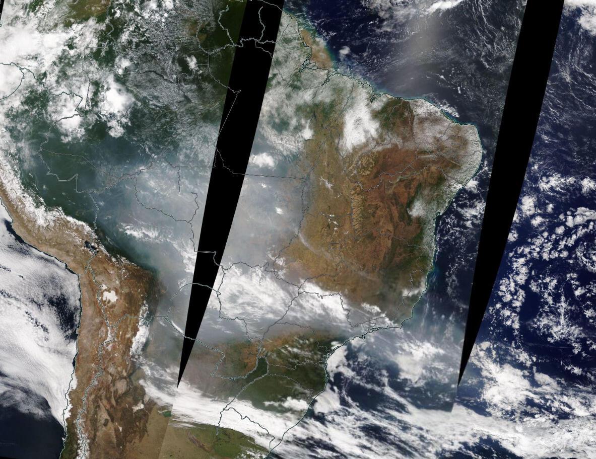 Fonte: Satélite Terra (NASA)