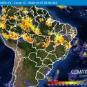 Semana de ventania no Brasil