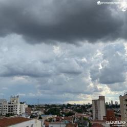 Ar abafado e temporais em São Paulo