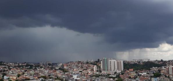 Fim de semana com risco de temporais no Brasil