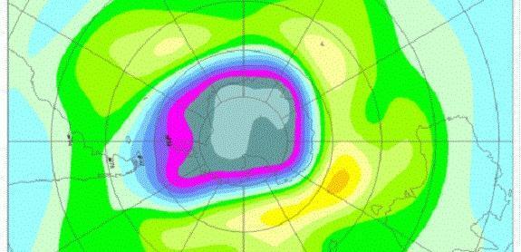 Buraco de ozônio na Antártica é um dos maiores dos últimos anos