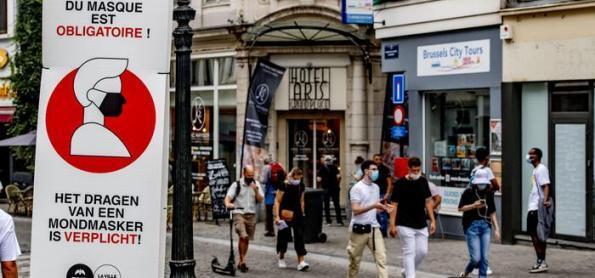 Bélgica à beira de um tsunami na pandemia
