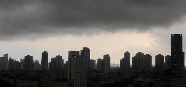 Muita chuva sobre o Brasil nesta quarta-feira