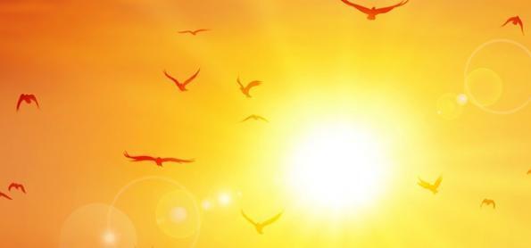 Onda de calor histórica está chegando ao fim