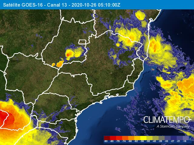 Tempestade subtropical Mani se formou na costa do Sudeste - Categoria -  Notícias Climatempo
