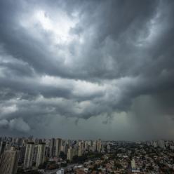 Alerta de muita chuva para o Sul do Brasil