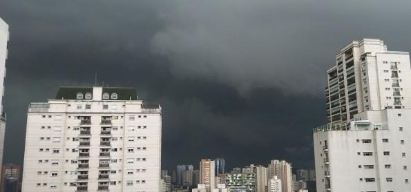 Atenção com fortes rajadas de vento pelo Brasil