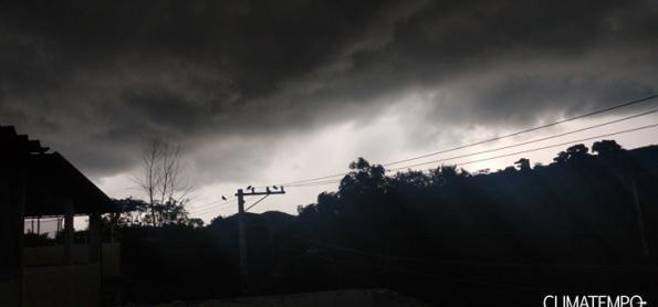 Muita chuva sobre a capitais da Região Sudeste