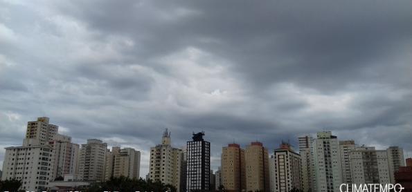 Domingo de calor intenso em São Paulo