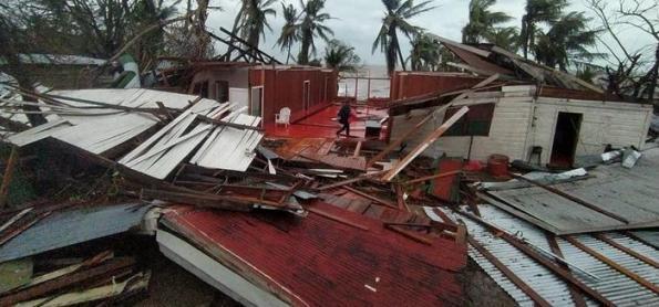 Furacões deixam rastro de destruição na Nicarágua