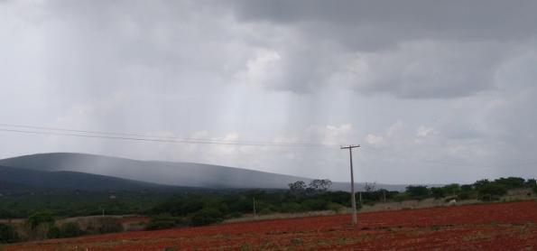 Nuvens carregadas por quase todo o Brasil