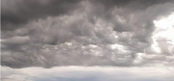 Chuva cai forte em muitas áreas do Brasil hoje