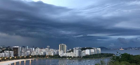 Fim de semana de muita chuva no Sudeste