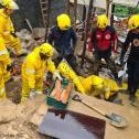 Chuva volumosa deixa Florianópolis em emergência