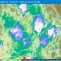 Balanço parcial do temporal de 25/1/2021 sobre São Paulo
