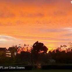 Calorão e sol predominam em São Paulo