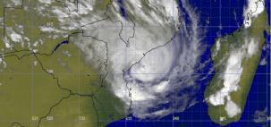 Ciclone Eloise chega a Moçambique