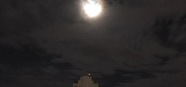 Lua cheia de janeiro: a Lua dos Lobos Uivantes